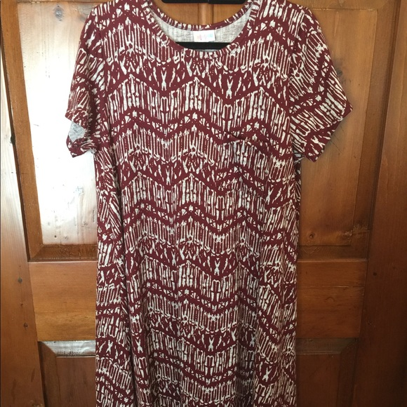 LuLaRoe Dresses & Skirts - Carly Dress 7